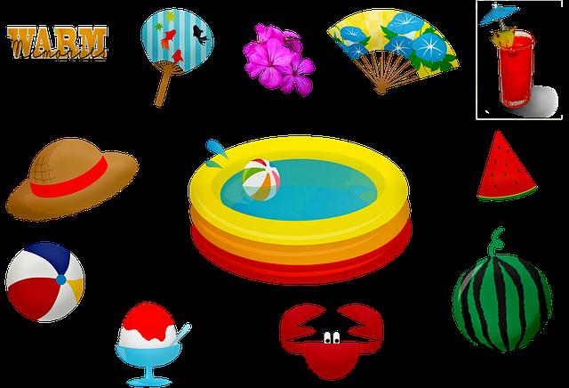 Umbrella, Pool, Vacation, Luxury, Relaxation, Backyard