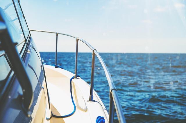 Boat, Yacht, Railings, Leisure, Luxury, Ocean, Outdoors