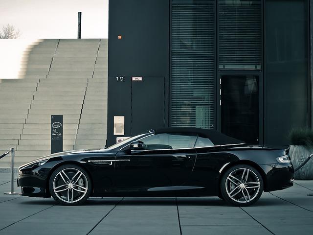 Auto, Aston Martin, Sports Car, Convertible, Luxury