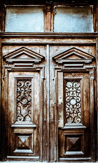 Ukraine, Doors, Lviv, Background, House