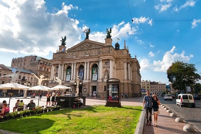 Theater, Space, Lviv, Lvov, Ukraine, Historically, Kuk