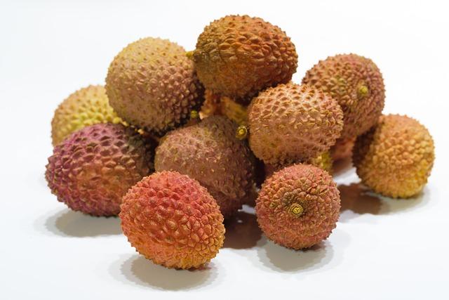 Litchi, Lychee, Litsch, Soapberry Plant, Sapindaceae