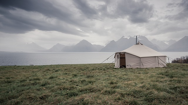 Tent, Trip Tent, Lyngen, The Nature Of The, Clouds