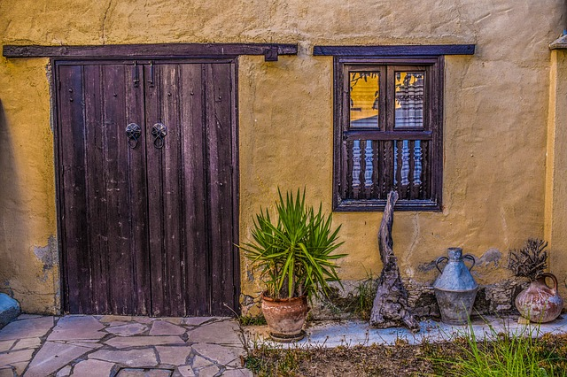 Cyprus, Lythrodontas, Old House, Architecture