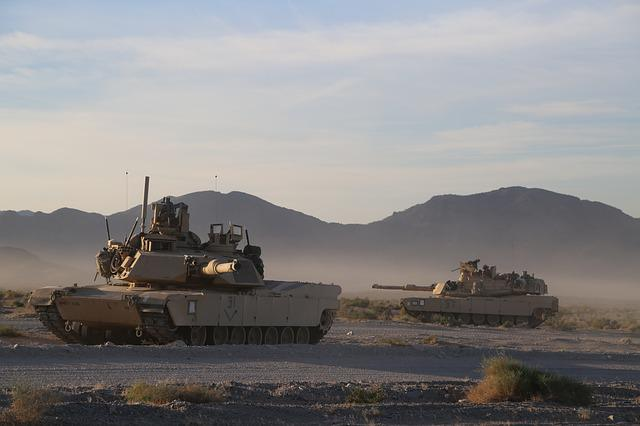 M1a2 Abrams, Exercise, Heavy Armour