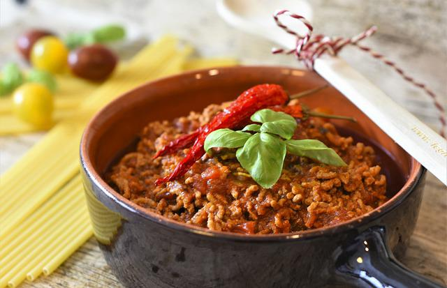 Bolognese, Meat Sauce, Macaroni, Tomatoes, Minced Meat