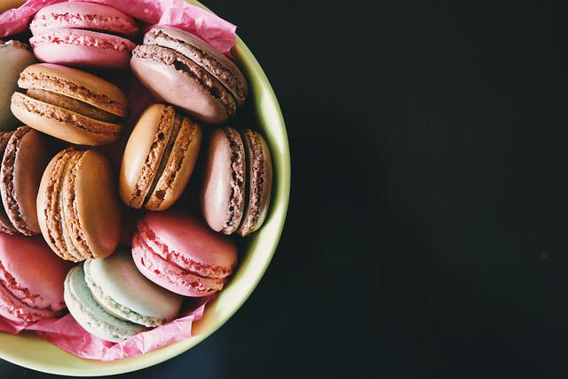 Macaroons, Dessert, Sweets, Colors, Food, Wallpaper