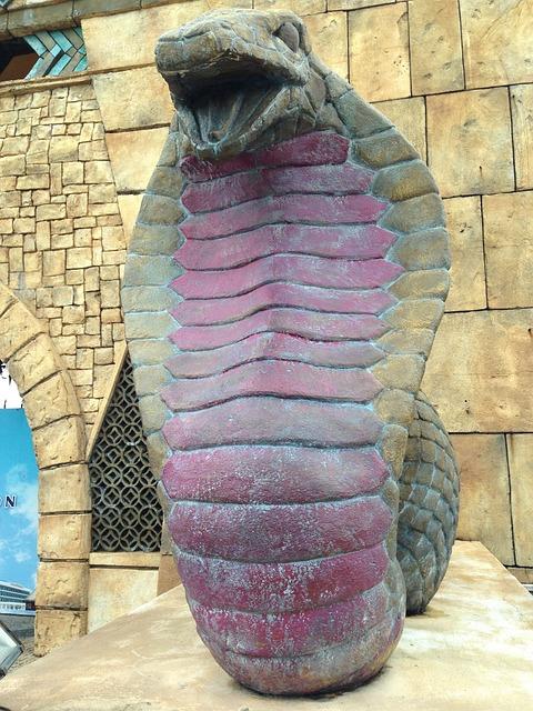 Snake, Statue, Cobra, Macau
