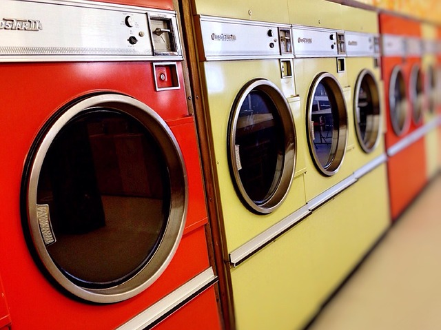 Laundromat, Washer, Dryer, Machine, Laundry