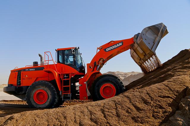 Machine, Tractor, Soil, Bulldozer, Industry, Equipment