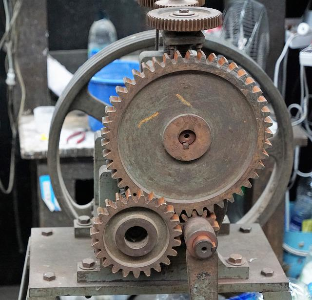 Gear, Motor, Machine, Machinery, Precision, Industry