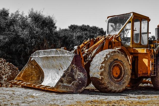 Scoop, Machine, Bulldozer, Industry, Power Shovel