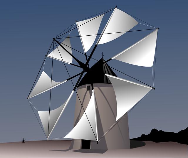 Windmill, Wind, Machine, Energy, Wind Energy, Rotation