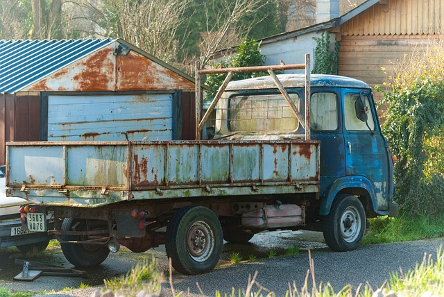 Truck, Transport, Vehicle, Automobile, Machine, Rust