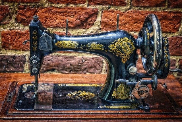 Sewing Machine, Singer, Old, Crank, Sew, Machine