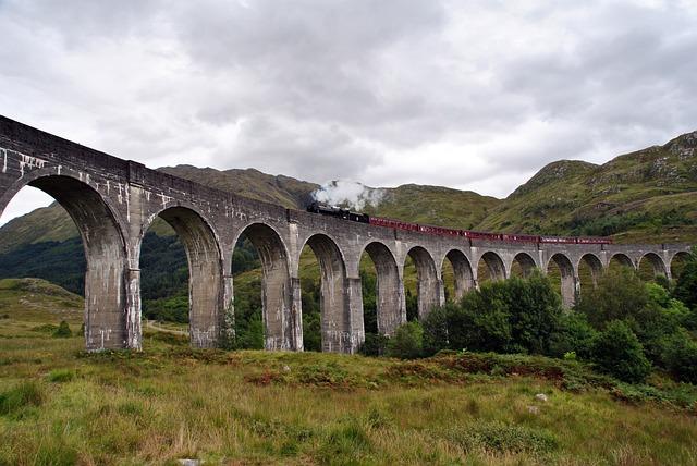 Train, Scotland, Harry Potter, Steam, Machine