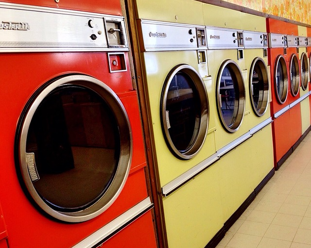 Laundromat, Washer, Dryer, Machine, Washing, Laundry