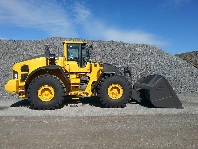 Volvo, Wheel Loaders, Machine, Gravel Pit