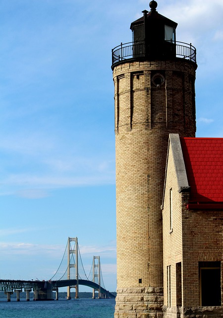 Mackinac, City, Mackinac City, Mackinac Bridge