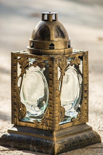 Lantern, Macro, Close Up, All Saints, Gold