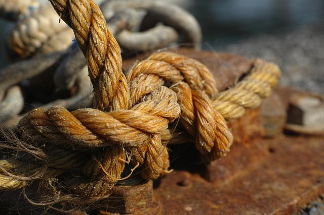 Rope, Node, Solid, Maritime, Anchor, Boat, Macro