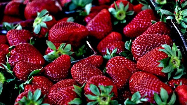 Strawberry, Red, Macro, Berries, Fruit, Ripe, Delicious