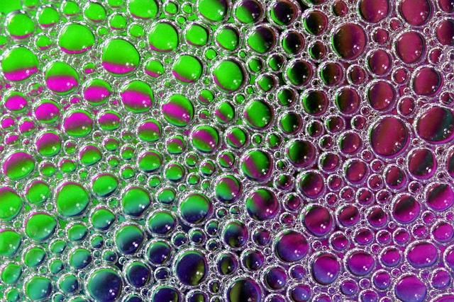 Macro, Abstract, Soap, Bubbles, Reflection
