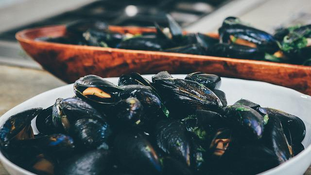 Bowl, Ceramic, Close-up, Food, Healthy, Macro, Mussels