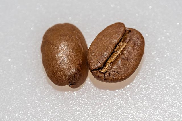 Coffee, Coffee Bean, Roasted, Caffeine, Macro, Cafe