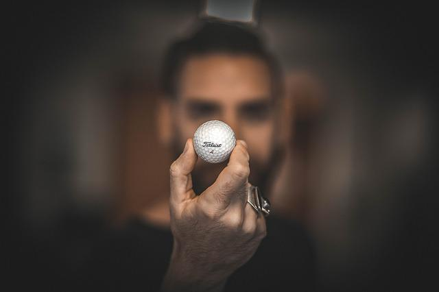 Golf Ball, Hand, Macro, Man, Golf, Sports, Ball