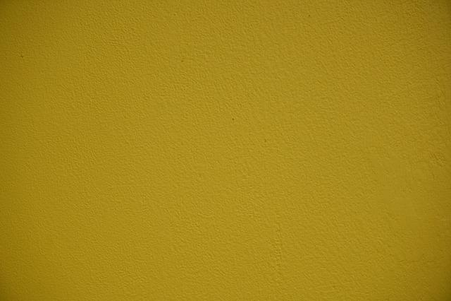 Yellow, Wall, Plaster, Nobody, Texture, Macro, Old