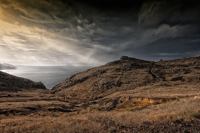 Madeira, Landscape, Sao Lorenco, Light, Sunrise