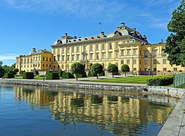 Drottningholm Palace, Stockholm, Mälaren, Royal Palace