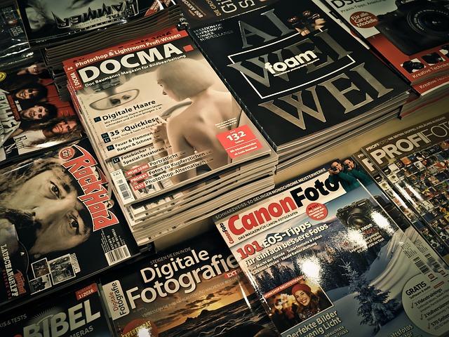 Magazines, Read, Magazine, Newspaper, Press, Folders
