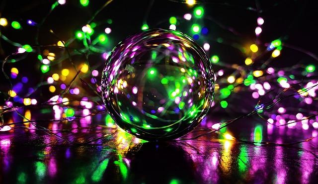 Crystal Ball-photography, Ball, Lights, Colorful, Magic