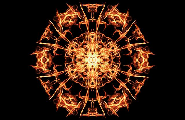 Pentagram, Fire, Magic, Symbol, Flames, Occult, Icon