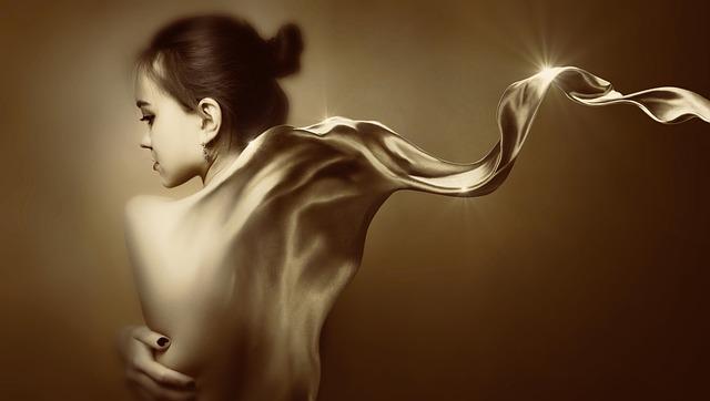 Fantasy, Girl, Move, Sepia, Surreal, Mysterious, Magic