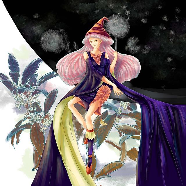 Original, Girls, Magic, Science Fiction Cg