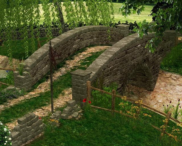 Bridge, Path, Merlin, Magical, Fantasy, Wizard, Fable