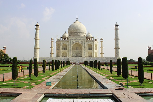 Taj Mahal, India, Architecture, Taj, Mahal, Landmark