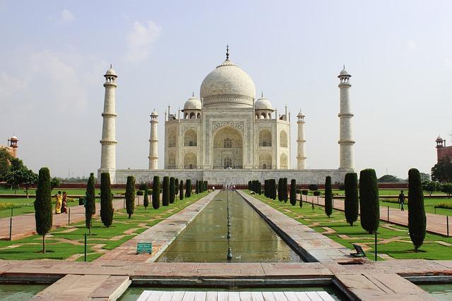 Taj Mahal, India, Architecture, Taj, Mahal, Landmark