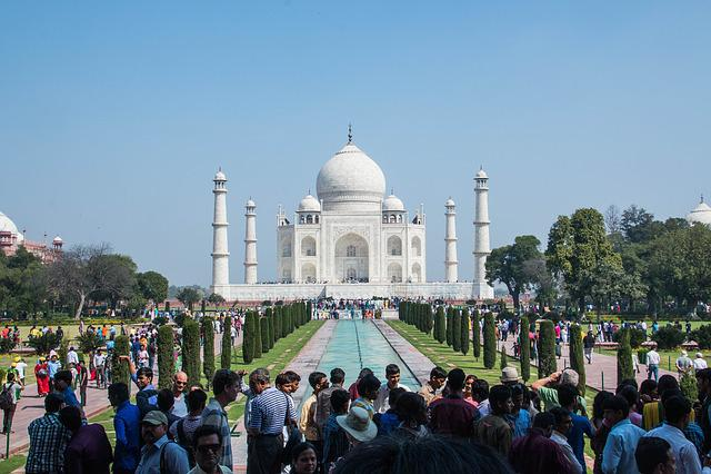 Taj Mahal, Agra, India, Taj, Mahal, Jahan, Palace