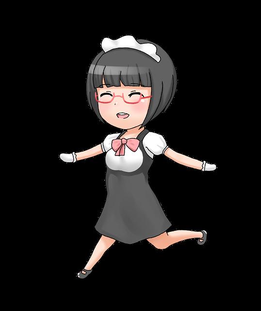 Moe, Maid, Maids, The Default Message, Anime, Geek