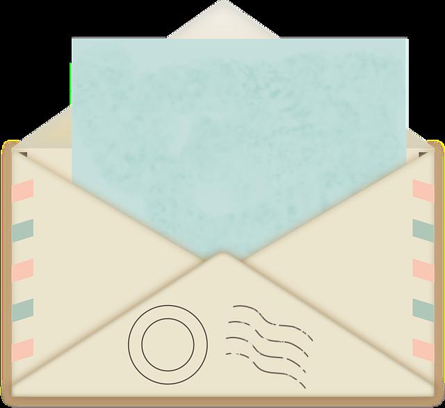 Envelope, Mail, Postage, Post Office, Postal