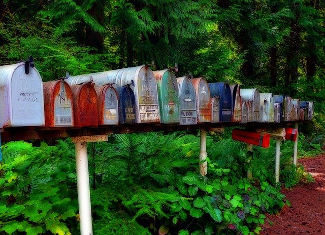 Mailbox, Postbox, Letters, Mails, Snail Mail, Packets
