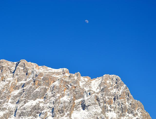 Mountains, Zugspitze, Landscape, Germany, Main