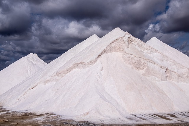 Salts, Clouds, Mountains, White, Majorca, Spain