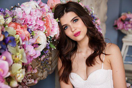 Girl, Fashion, Makeup, Beauty, Model, Russian, Spring
