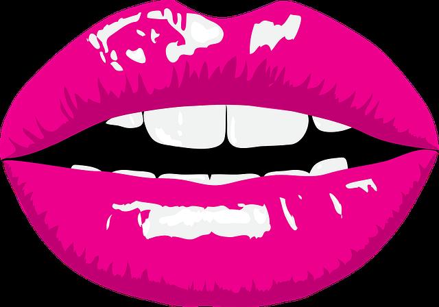 Mouth, Lipstick, Makeup, Color, Woman, Clip Art