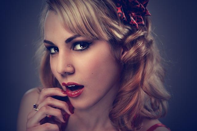 Woman, Portrait, Model, Face, Makeup, Hairstyle, Blonde